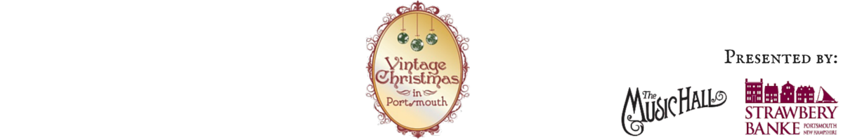 Vintage Christmas in Portsmouth Logo
